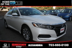 New Honda vehicles 2018 Honda Accord LX Sedan H44390 for sale near you in Alexandria, VA