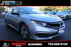 New Honda vehicles 2019 Honda Civic LX Sedan H44544 for sale near you in Alexandria, VA