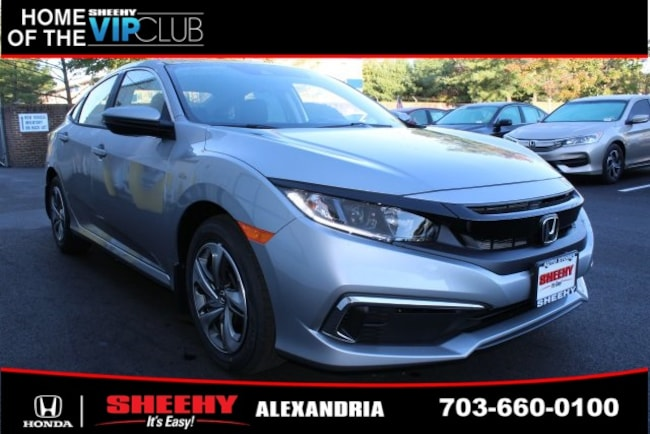 New Honda vehicle 2019 Honda Civic LX Sedan for sale near you in Alexandria, VA