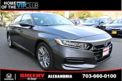 New Honda vehicles 2018 Honda Accord LX Sedan HDX8902 for sale near you in Alexandria, VA