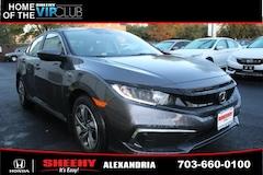 New Honda vehicles 2019 Honda Civic LX Sedan HDX8950 for sale near you in Alexandria, VA