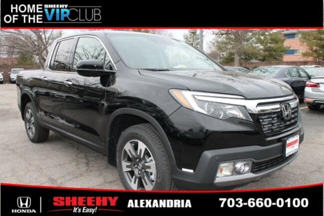 New Honda vehicle 2019 Honda Ridgeline RTL-E Truck Crew Cab for sale near you in Alexandria, VA