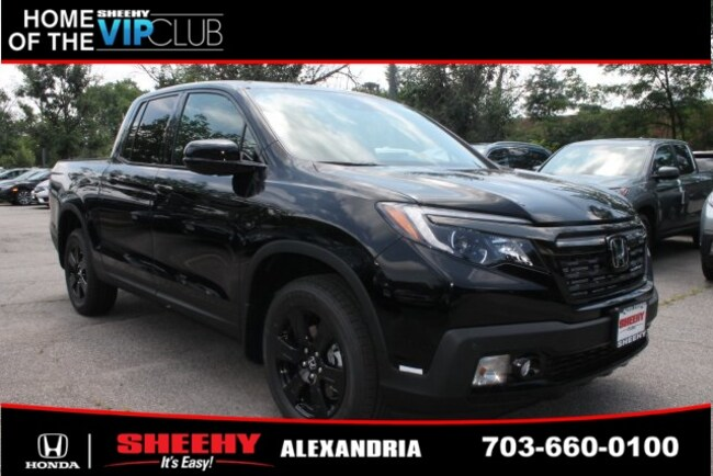 New Honda vehicle 2019 Honda Ridgeline Black Edition Truck Crew Cab for sale near you in Alexandria, VA