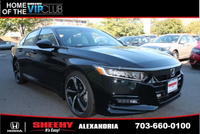 New Honda vehicle 2019 Honda Accord Sport Sedan for sale near you in Alexandria, VA