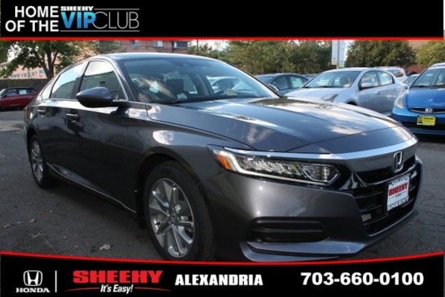 New Honda vehicle 2019 Honda Accord LX Sedan for sale near you in Alexandria, VA