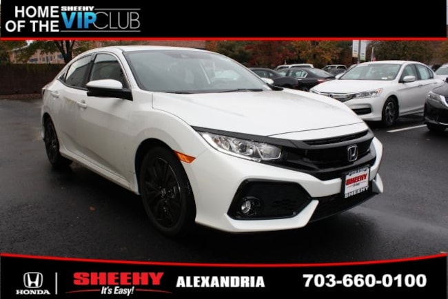 New Honda vehicle 2019 Honda Civic EX Hatchback for sale near you in Alexandria, VA