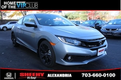 New Honda vehicles 2019 Honda Civic Sport Coupe H44420 for sale near you in Alexandria, VA