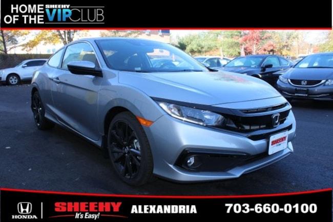 New Honda vehicle 2019 Honda Civic Sport Coupe for sale near you in Alexandria, VA