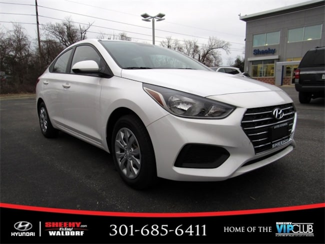 New Hyundai vehicle 2019 Hyundai Accent SE Sedan for sale near you in Waldorf, MD