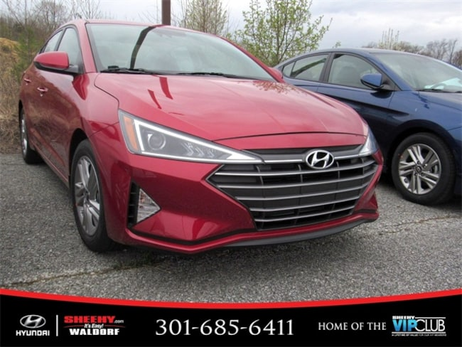 New Hyundai vehicle 2019 Hyundai Elantra SEL Sedan for sale near you in Waldorf, MD