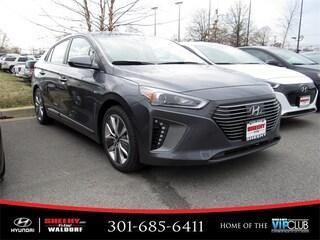 New 2019 Hyundai Ioniq Hybrid Limited Hatchback V124439 for sale near you in Waldorf, MD