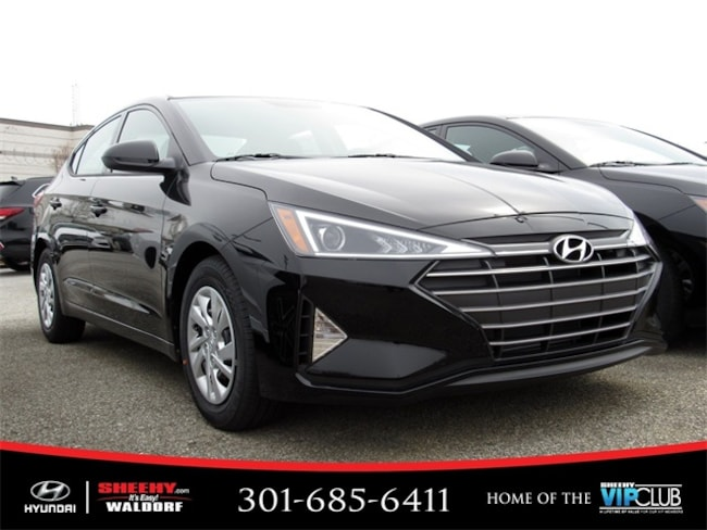 New Hyundai vehicle 2019 Hyundai Elantra SE Sedan for sale near you in Waldorf, MD