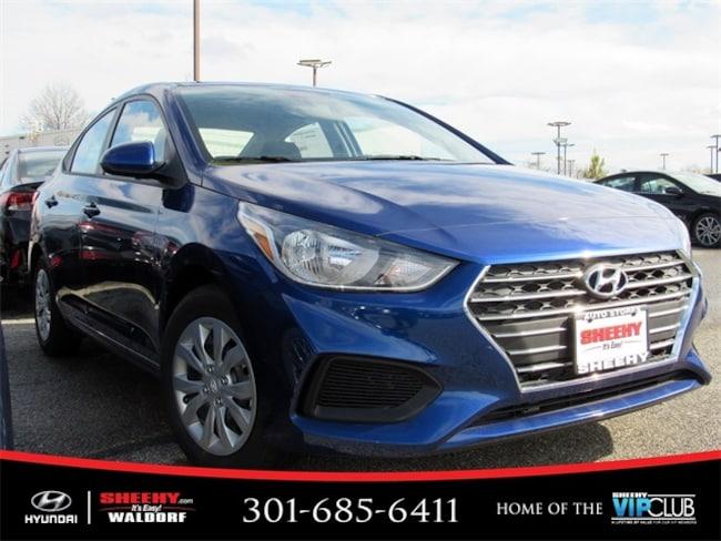 New Hyundai vehicle 2019 Hyundai Accent SE Sedan for sale near you in Waldorf, MD