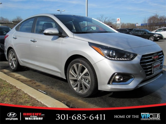 New Hyundai vehicle 2019 Hyundai Accent Limited Sedan for sale near you in Waldorf, MD