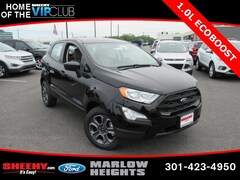 New 2019 Ford EcoSport S SUV B276683 Marlow Heights MD