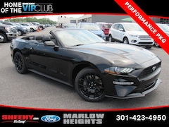New 2019 Ford Mustang Ecoboost Premium Convertible B185030 Marlow Heights MD