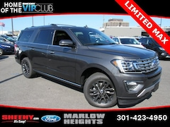 New 2019 Ford Expedition Max Limited SUV BA48100 Marlow Heights MD