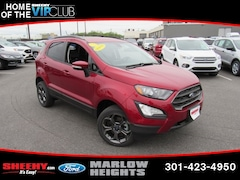 New 2018 Ford EcoSport SES SUV B183719 Marlow Heights MD