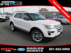 New 2019 Ford Explorer XLT SUV BB35327 Marlow Heights MD