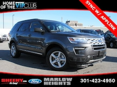 New 2019 Ford Explorer XLT SUV BB03213 Marlow Heights MD