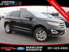 New 2018 Ford Edge SEL SUV BB28110 for sale near you in Richmond, VA