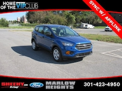New 2019 Ford Escape S SUV BA02357 Marlow Heights MD