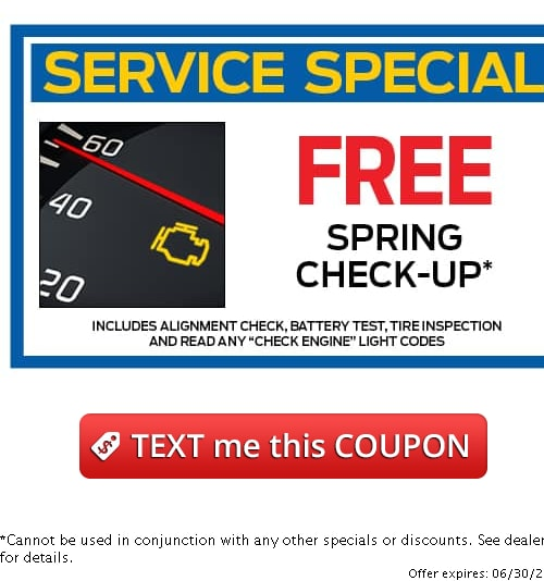 Service Specials in Marlow Heights at Sheehy Ford of Marlow