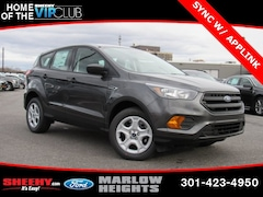 New 2019 Ford Escape S SUV BA68145 Marlow Heights MD