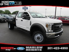 New 2019 Ford F-450 Chassis XL Truck Crew Cab BE60697 Marlow Heights MD