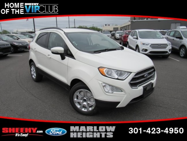 New 2019 Ford EcoSport SE SUV Marlow Heights, MD