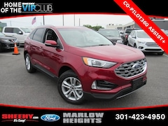 New 2019 Ford Edge SEL SUV BC16204 Marlow Heights MD