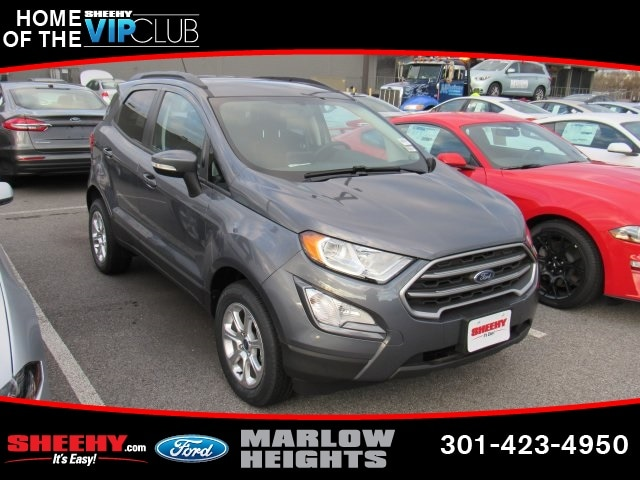 Featured New 2018 Ford EcoSport SE SUV for sale near you in Richmond, VA