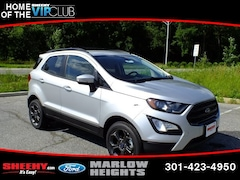 New 2018 Ford EcoSport SES SUV B200674 Marlow Heights MD