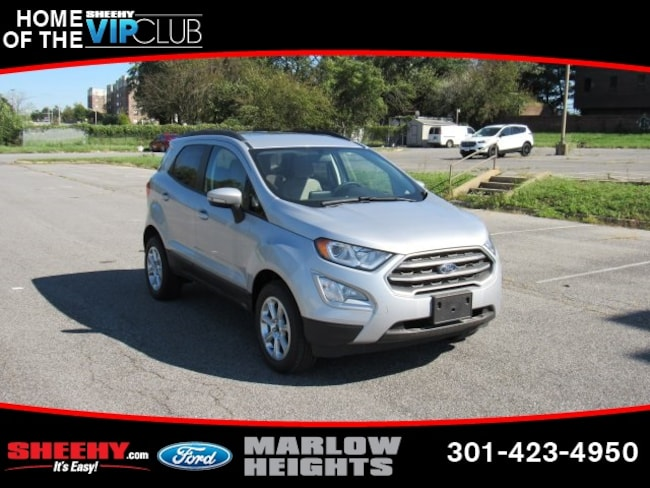 New 2018 Ford EcoSport SE SUV Marlow Heights, MD