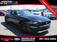 New 2019 Ford Mustang Ecoboost Coupe B180819 Marlow Heights MD