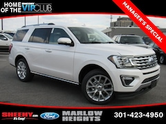 New 2019 Ford Expedition Limited SUV BA18669 Marlow Heights MD