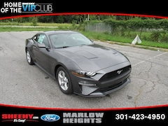 New 2019 Ford Mustang Ecoboost Coupe B117310 Marlow Heights MD