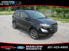 New 2018 Ford EcoSport SES SUV B227560 Marlow Heights MD