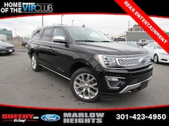 New 2019 Ford Expedition Max Platinum SUV BA37668 Marlow Heights MD