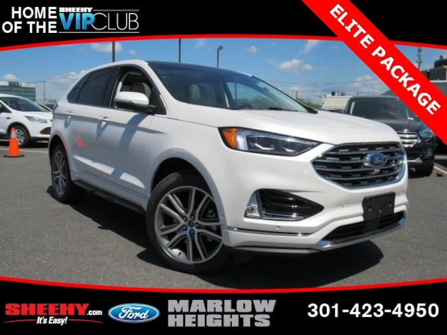 New 2019 Ford Edge Titanium SUV Marlow Heights, MD