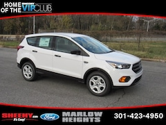 New 2019 Ford Escape S SUV BA30421 Marlow Heights MD