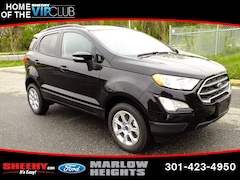 New 2018 Ford EcoSport SE SUV B189439 Marlow Heights MD