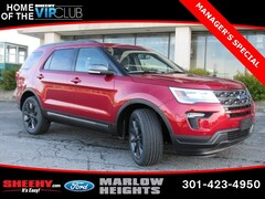 New 2019 Ford Explorer XLT SUV BA69399 Marlow Heights MD
