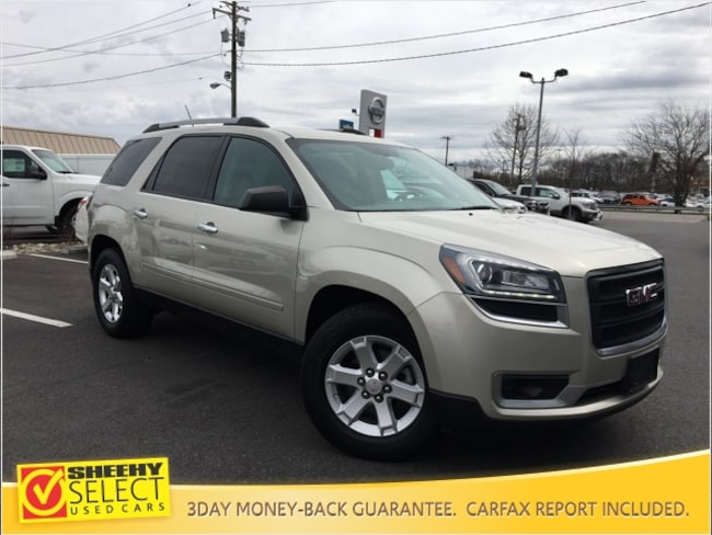 Used 2016 GMC Acadia SLE-1 SUV for sale in Glen Burnie, MD