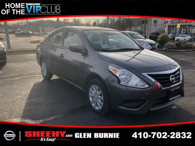 New 2019 Nissan Versa 1.6 S Sedan in Glen Burnie, MD