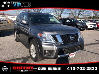 New 2018 Nissan Armada SV SUV E501263 in Waldorf, MD
