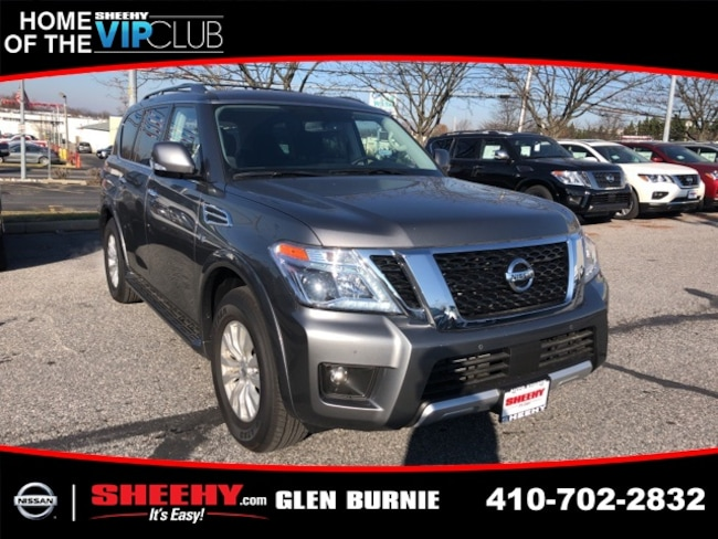 New 2018 Nissan Armada SV SUV for sale in Waldorf, MD
