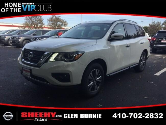 New 2019 Nissan Pathfinder SV SUV in Glen Burnie, MD