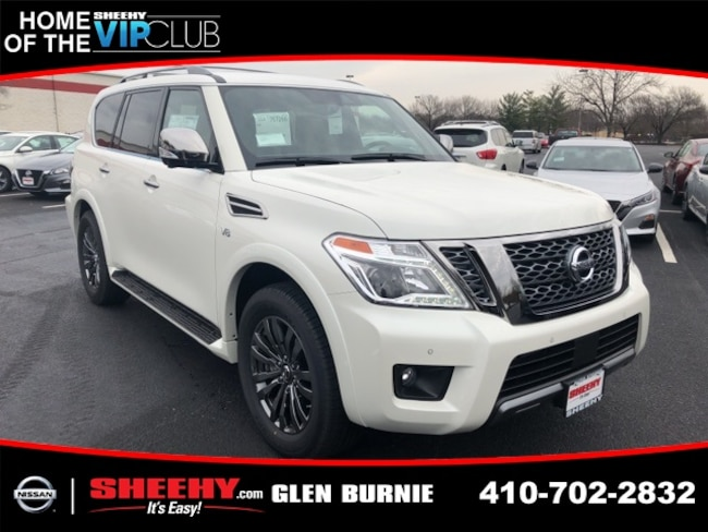 New 2019 Nissan Armada Platinum SUV in Glen Burnie, MD