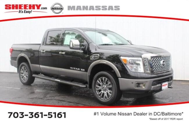 New 2018 Nissan Titan XD Platinum Reserve Truck in Manassas, VA